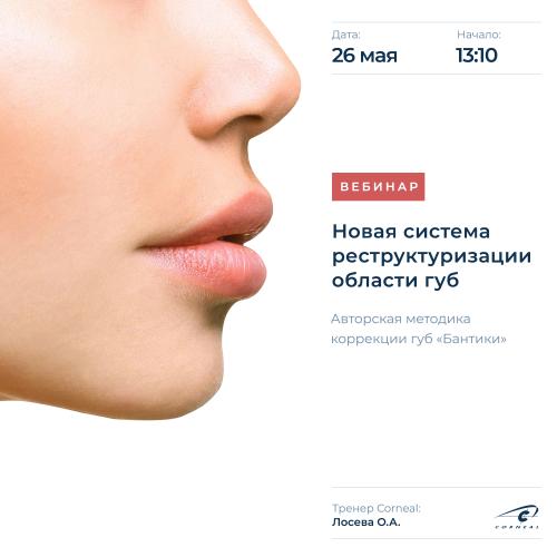 Новая система реструктуризации области губ