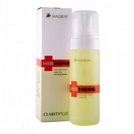 """Пена """"Кларити+"""" для очищения кожи лица  для всех типов кожи  150 мл"""