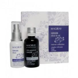 100% Натуральный Масляный и Водный экстракт Имбиря для зрелой кожи и профилактики старения, 50/60 мл