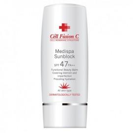 MediSpa Sunblock SPF 47/ PA++ Солнцезащитный наноэмульсионный крем для чувствительной кожи, 70 мл