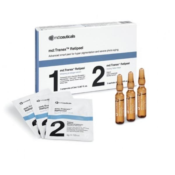 Tranex Retipeel/ Двухфазный инкапсулированный  ретиноловый пилинг с транексамовой кислотой/