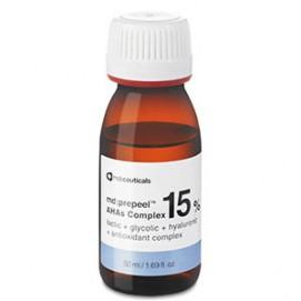 Комплекс альфа-гидроксикислот 15% (md:prepeel™ AHAs Complex 15%), 50 мл