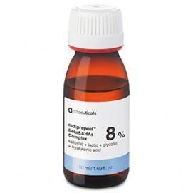 Комплекс альфа- и бета-гидроксикислот 8% (md:prepeel™ Beta&AHAs Complex 8%), 50 мл