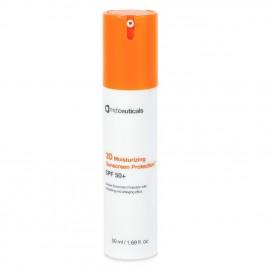 3Д Увлажняющий солнцезащитный крем SPF 50+ (3D moisturizing Sunscreen Protection SPF 50+), 50 мл